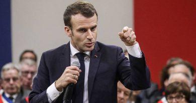 Emmanuel Macron Fala do uso de Blockchain