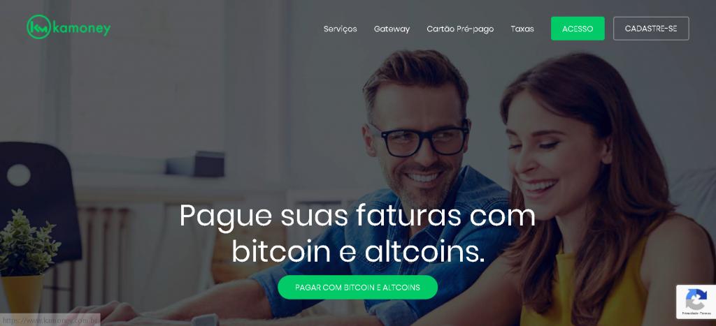 Pague com Bitcoin, Ethereum, Litecoin, Zcash, Dogecoin, Decred, Dash, Bitcoin Cash, Ether Classic, Lisk, Stratis, Digibyte, Bitcore, SmartCash e Experience Points.