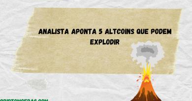 Analista aponta 5 altcoins que podem explodir