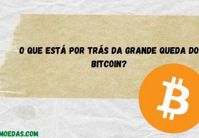 O que está por trás da grande queda do bitcoin?