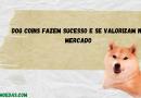 Dog Coins fazem sucesso e se valorizaram na última semana